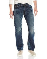 True Religion Ricky Rope-stitch Relaxed-fit Jean - Blue