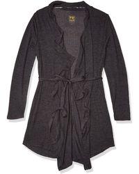 Rosie Pope Pip N Vine Maternity Robe - Black