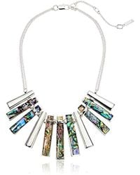 Kenneth Cole - Geometric Stick Necklace - Lyst