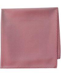 Ben Sherman Core 100% Silk Pocket Square - Red