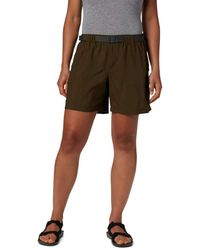 Columbia Sandy River Breathable Cargo Short With Upf 30 Sun Protection - Green