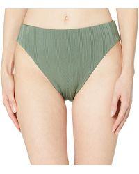 Vince Camuto Reversible Bikini Bottom Swimsuit - Multicolor