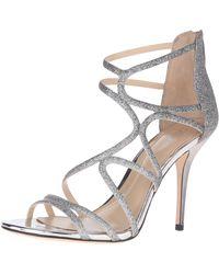 Imagine Vince Camuto Ranee Dress Sandal,platinum,8.5 Medium Us - Multicolor