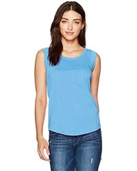 Alternative Apparel - Cap-sleeve Crew T-shirt - Lyst