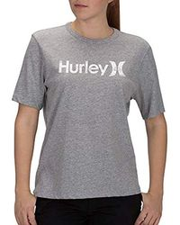 Hurley - Short Sleeve One & Only Perfect Crew T-shirt - Lyst
