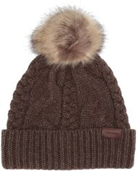 Pendleton Cable Hat - Brown