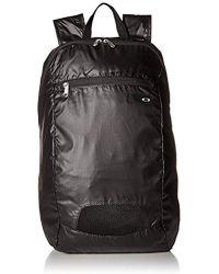 Oakley - Packable Backpack, Blackout, One Size - Lyst