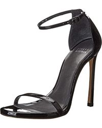 Stuart Weitzman Nudist Dress Sandal - Black