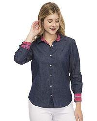 Izod - Button Shirt - Lyst