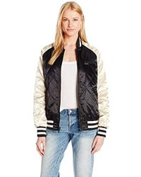 Members Only - Floral Blossom Reversible Souvenir Jacket - Lyst