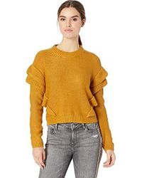 BB Dakota - Cabin Fever Ruffle Drop Shoulder Sweater - Lyst