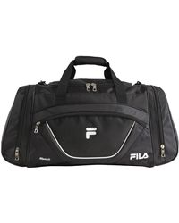 Fila Acer Large Sport Duffel Bag - Black
