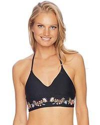 Ella Moss - Summer Serenade Crop Bikini Top - Lyst