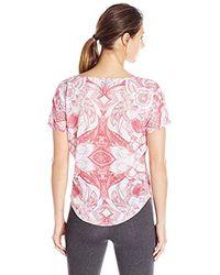Desigual - S' Sport Cotton Oversized T-shirt Paisley - Lyst