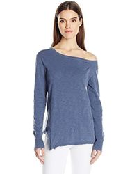 Wilt - One Shoulder Slouchy Tunicl/s - Lyst
