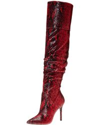 Jessica Simpson Loury Over-the-knee Boot - Red