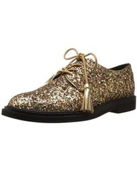 Kenneth Cole Annie Swear Style Oxford Glitter - Metallic
