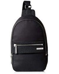 Calvin Klein Coated Nylon Sling - Black