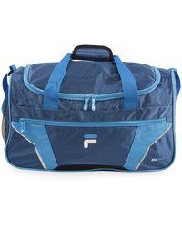 Fila Drone Sm Travel Gym Sport Duffel Bag - Blue