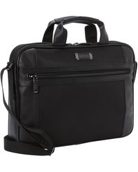 Kenneth Cole Reaction An Easy Pace' Dual Compartment Ez-scan Laptop & Tablet Business Backpack - Black
