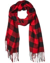 Amazon Essentials Blanket Scarf - Red