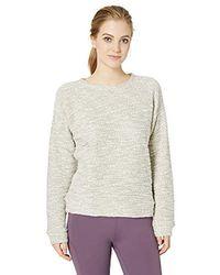 Calvin Klein - Boucle Long Sleeve Crewneck Pullover - Lyst