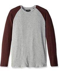 Velvet by Graham /& Spencer Mens Velvets Elvin Raglan Knit Sweater in Wool Blend