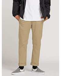 Volcom - Frickin Modern Fit Stretch Chino Pant - Lyst