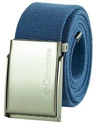 Columbia Military Web Belt - Blue