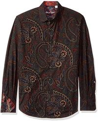 Robert Graham - Carlyle Long Sleeve Classic Fit Woven Shirt - Lyst