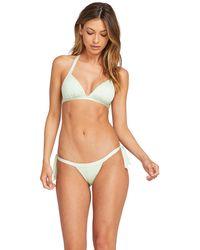 Volcom - Smock That Tie Side Skimpy Bikini Bottom - Lyst