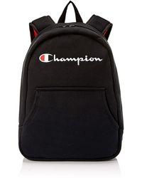 Champion Reverse Weave Hoodie Backpack - Black