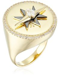Noir Jewelry Celestial Ring - Metallic