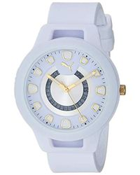 PUMA Reset V1 Sport Watch - White