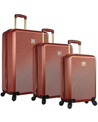 Anne Klein - 3 Piece Hardside Spinner Luggage Set - Lyst