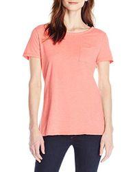 Hanes - Short-sleeve Pocket T-shirt - Lyst