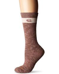 Carhartt Womens Merino Wool Crew Casual Sock - Pink