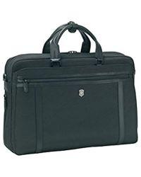 """Victorinox - Werks Professional 2.0 15"""" Laptop Brief Laptop Briefcase - Lyst"""