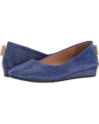 French Sole - French Sole Zeppa Slip On Shoes - Lyst