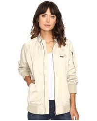 Members Only Womens Iconic Boyfriend Jacket with Satin Finish