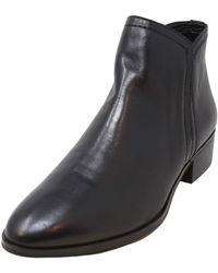 ALDO Casual Ankle Boots with Block Heels - Schwarz