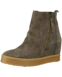 Kenneth Cole Bryant Wedge Sneaker - Brown