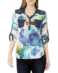 Desigual T Shirt Ala Mariposa Teal Bl 18swbw35 ,Vert ,XL