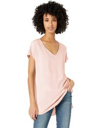 Daily Ritual Supersoft Terry Dolman-sleeve V-neck - Pink