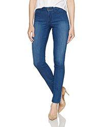 f0f4761955b45 NYDJ Alina Lace Overlay Legging Jeans In Black Denim in Black - Lyst