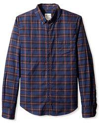 Joe's Jeans - Slim Fit Plaid Shirt - Lyst