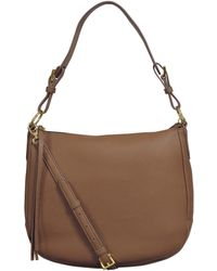 Buxton Convertible Hobo Bag - Brown