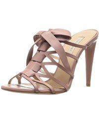 fbf61822acb2 Lyst - Jimmy Choo Pandora Patent Wedge Sandal