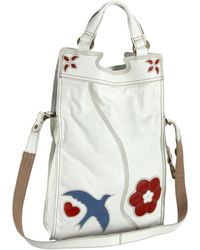 Lucky Brand - Abbey Road Cross-body,off White,one Size - Lyst
