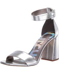 Circus by Sam Edelman Elizabeth Two-piece Sandals - Metallic